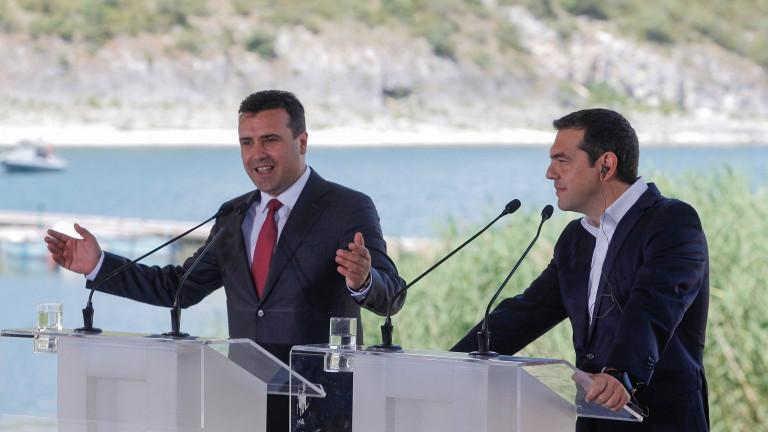 Подписването на споразумението за името на Македония е водеща тема