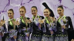 Момичетата на Ина Ананиева отново златни!