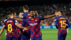 Ансу Фати с по-добър старт в Барселона от Лионел Меси