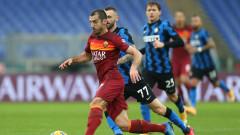 Истинско дерби! Рома и Интер не успяха да се победят за радост на Милан