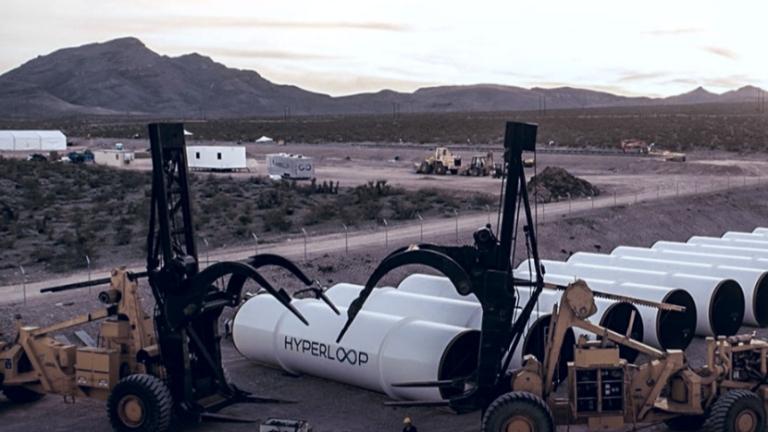 Русия инвестира държавни пари в ултразвуковия транспорт Hyperloop