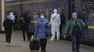 Украйна отчете тревожно увеличение на заразените с коронавирус