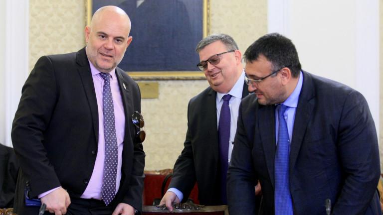 Главният прокурор Сотир Цацаров похвали законодателите за адекватните инициативи в