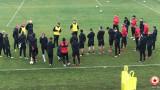 ЦСКА вече тренира в пълен състав