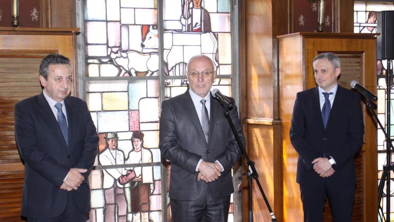 На церемония в централната банка управителят на Българската народна банка