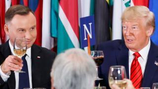 Полският президент може да посети САЩ след обявеното от Тръмп местене на войски