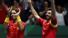 "Испания е на финал на ""Купа Дейвис"""