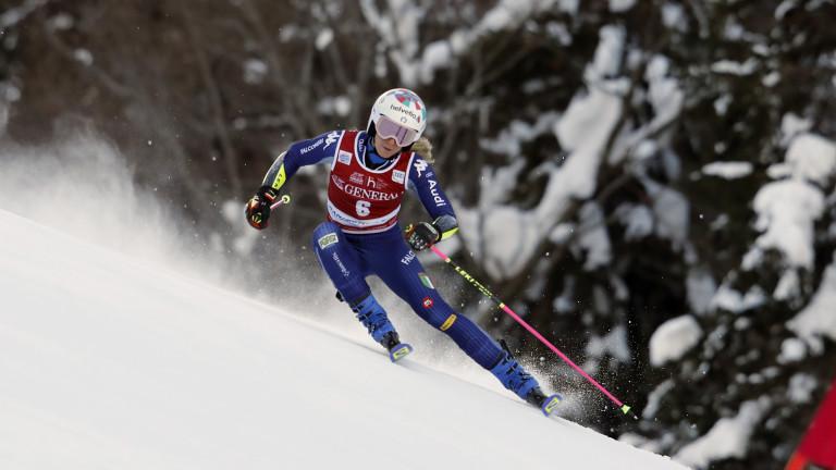 Марта Басино най-бърза в първия манш в Кранска гора