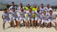 МФК Спартак спечели с пълен актив редовния сезон в плажния футбол