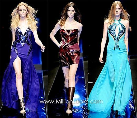 Versace представи новата си колекция в Милано