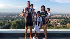 Кристиано Роналдо-младши се присъедини към академията на Ювентус