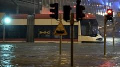 Потоп наводни Гданск