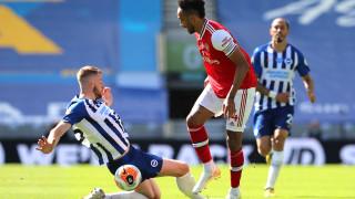 Брайтън съкруши Арсенал с гол в последната минута