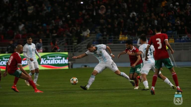 Аржентина победи Мароко с 1:0 в контролна среща, играна в