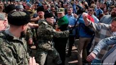 В насилието срещу протестиращите в Москва са участвали казашки части, наети от властите