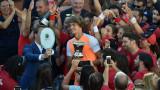 Александър Зверев надигра Новак Джокович в Рим и вече е в топ 10