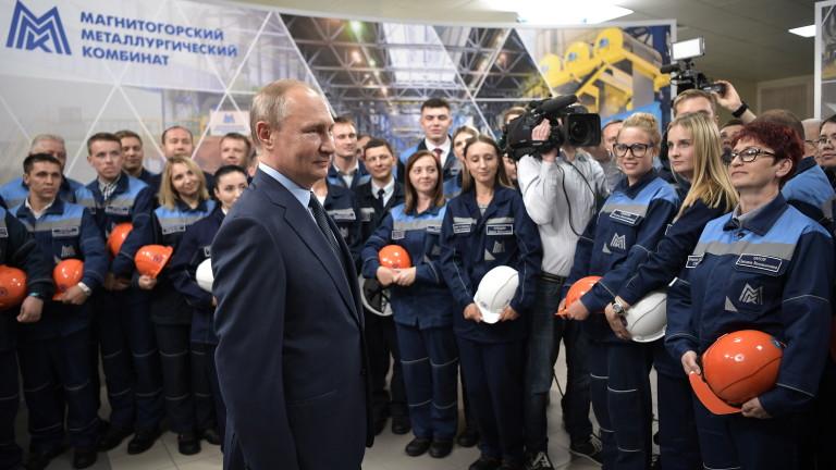 Президентът на Русия Владимир Путин поздрави сирийския си колега Башар