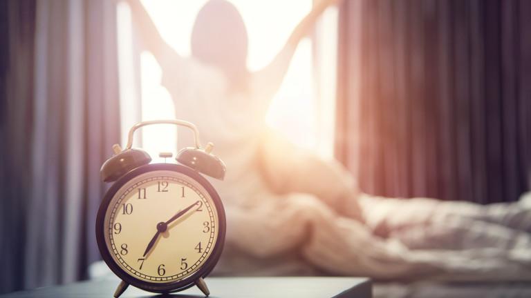 Най-неприятната частна сутрините е досадният звън на алармата, който прекъсва