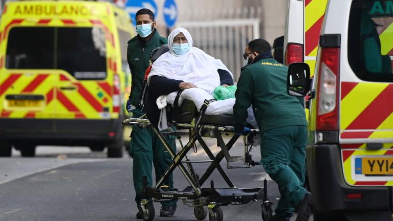 Здравните власти на Великобритания обяви, че през последните 24 часа