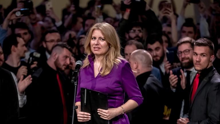 Зузана Чапутова е новият президент на Словакия