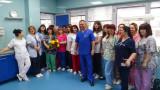 Полицаите в Русе ръкопляскаха на медиците, които са начело срещу коронавируса