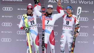 Швейцарецът Лоик Меяр стана първият носител на малката световна купа в паралелния гигантски слалом
