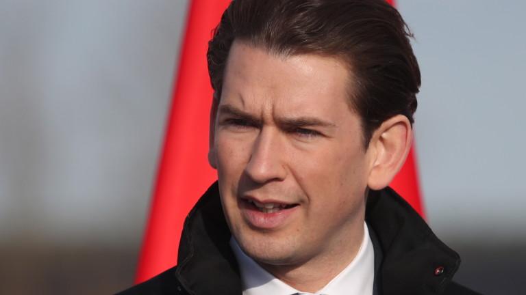 Канцлерът на Австрия Себастиан Курц вярва, че в момента няма