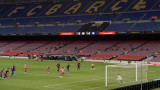 Барселона ще играе контрола с Химнастик