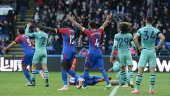 """Две дузпи спряха Арсенал срещу Кристъл Палас, """"орлите"""" прекъснаха победната серия на """"топчиите"""""""