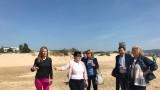 Ангелкова видя отлично състояние на морската вода в Слънчев бряг