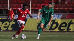 ЦСКА - Ботев (Враца) 3:1, по един червен картон и за двата отбора