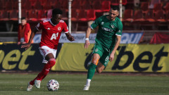 ЦСКА - Ботев (Враца) 4:0 (Развой на срещата по минути)