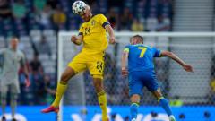 Швеция - Украйна, шведите с човек по-малко
