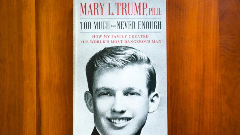 Тръмп: Мери не е уважавана в семейство ни, книгата ѝ е позор