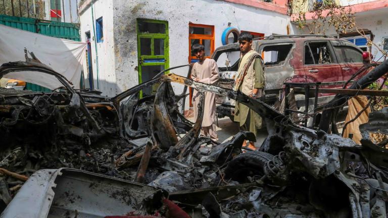 Експлозията е станала в района на Шерзад в афганистанската провинция