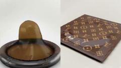 Презерватив Louis Vuitton струва 68 долара