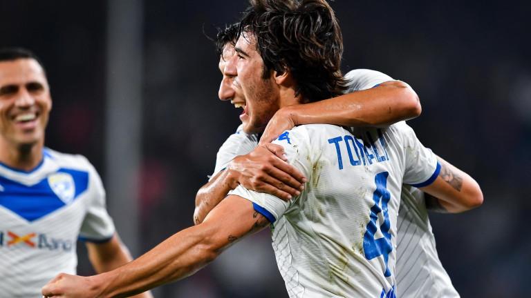 Милан подготвя 75 милиона евро за привличането на Сандро Тонали,