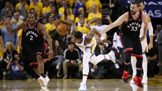 Торонто Раптърс победи Голдън Стей Уориърс и поведе с 2-1 победи във финала на НБА