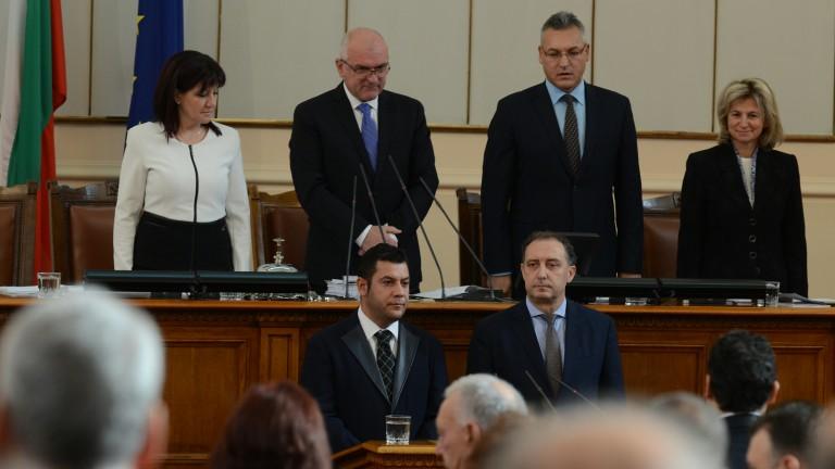 Снимка: Будинов много развълнуван за депутатския пост