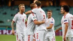 """Приказката за Дания на Евро 2020 продължава, """"червения динамит"""" е на полуфинал"""