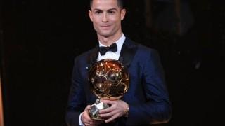 """Кристиано Роналдо отново грабна """"Златната топка""""!"""