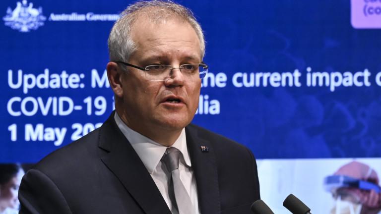 Австралийският премиер Скот Морисън, който разгневи Пекин, като призова за
