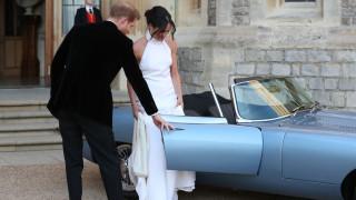 Роклята на Меган - част от сватбената колекция на Stella McCartney