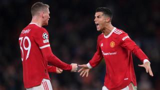 """Манчестър Юнайтед се добра до обрат у дома, Роналдо герой за """"червените дяволи"""""""