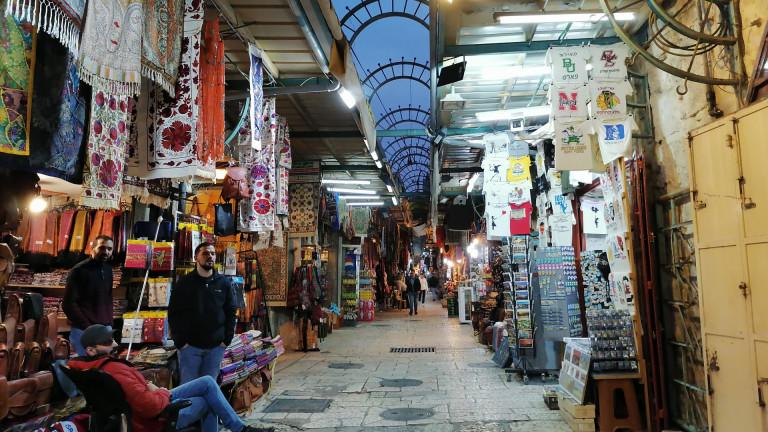 Пазар в Йерусалим, заснет с Honor 9X