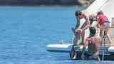 Лионел Меси заведе семейството си на популярен остров