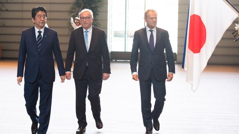 ЕС и Япония се споразумяха за еквивалентна защита на данните