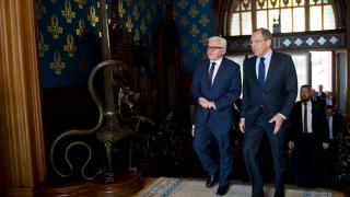 Лавров и Щайнмайер обсъдиха ситуацията в Сирия