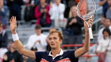 Даниил Медведев благодари на зрителите, които го освиркваха