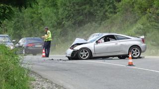 3-ма души пострадаха при катастрофа на пътя Симитли -Банско